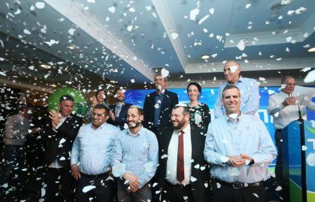 """מחוייבים להשיק: אמש נערך כנס השקת קמפיין הבחירות המאוחד. הרב פרץ: """"אלו בחירות על עתידה של ישראל"""""""