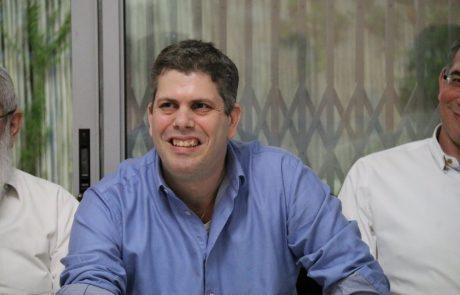 """'מודיעין שלום': יו""""ר מועצת ראשי הסניפים, עמיעד טאוב, נבחר להוביל את רשימת הבית היהודי במודיעין"""