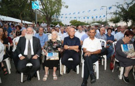 """הרב אלי בן דהן סגן שר הבטחון :""""כנער צעיר צעדתי לתחנת הרכבת סבסטיה והייתי שותף לעליות שם""""."""