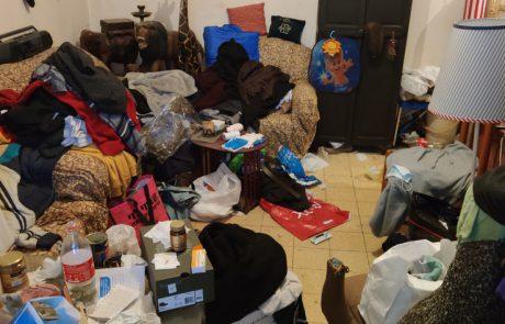 פינוי דירה מזונחת עקב אספנות כפייתית