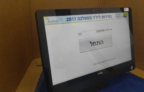 החלו הבחירות לראשות הבית היהודי