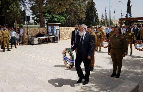 """אלי בן דהן בנאומו בטקס יום הזיכרון: """"המחיר ששילמתם לא היה לשווא"""""""