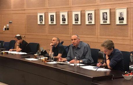 """ח""""כ מוטי יוגב: יש לגבות כסף מהרשות הפלסטינית לטובת סלילת כבישים ביו""""ש."""