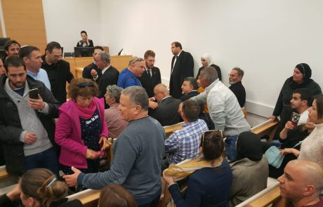 """מהומה בבית המשפט המחוזי בלוד בדיון על הסרט ג'נין ג'נין: """"חיילי צה""""ל – רוצחים"""""""
